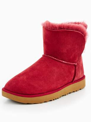 UGG Classic Cuff Mini Boot - Red