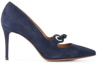 L'autre Chose Buckle Detail Pumps - Blue xCLvKG