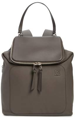 Loewe Goya Plaid Calfskin Leather Backpack