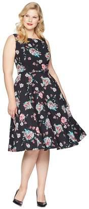 Unique Vintage Plus Size Harriet Swing Dress Women's Dress