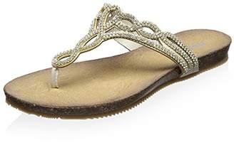 Dune London Women's Lapper Thong Sandal