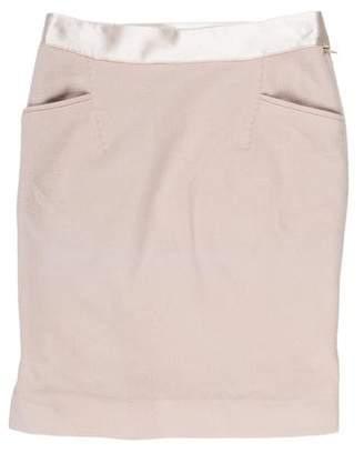 CNC Costume National Wool-Blend Mini Skirt