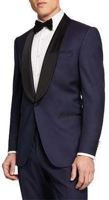 BOSS Men's Two-Tone Shawl-Collar Tuxedo Suit