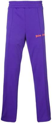 Palm Angels logo track trousers