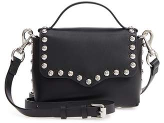 Rebecca Minkoff Blythe Small Studded Leather Crossbody Bag