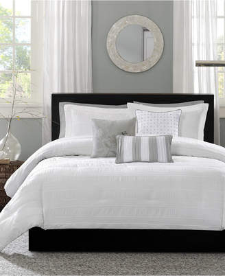 Madison Home USA Hampton 6-Pc. Full/Queen Duvet Cover Set Bedding