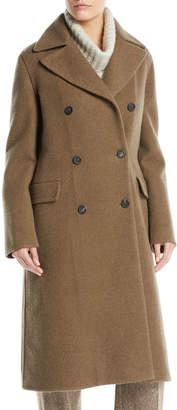 Loro Piana Double-Breasted Cashmere Coat