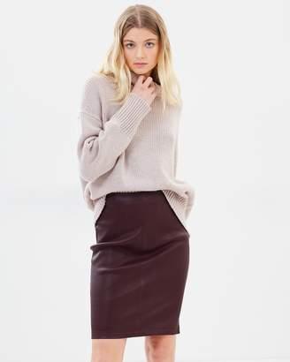 Stretch High Waist Skirt