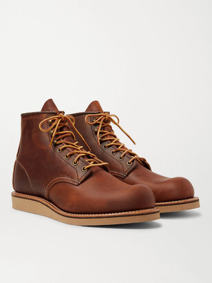 Red Wing Shoes 2952 Rover Burnished Leather Boots - Men - Brown