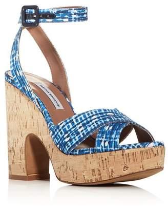 Tabitha Simmons Women's Elena Crisscross Platform Wedge Sandals - 100% Exclusive