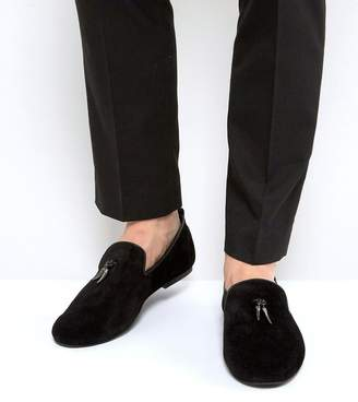 Frank Wright Loafers With Gunmetal Tassel