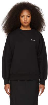 Études Black Logo Sweatshirt