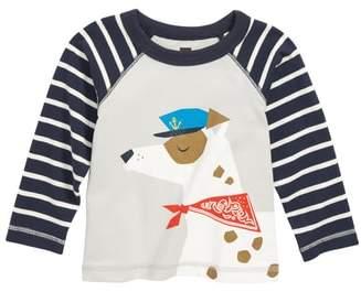 Tea Collection Salty Dog Graphic Raglan T-Shirt