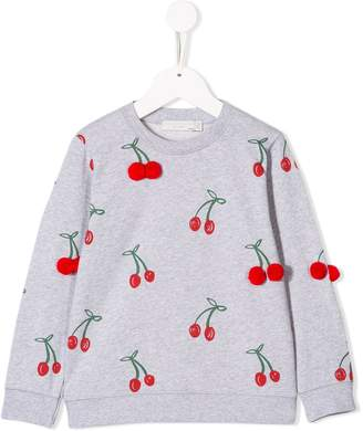 Stella McCartney cherry print sweatshirt