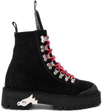 OFF-WHITE Hiking Mountain Boots $988 thestylecure.com
