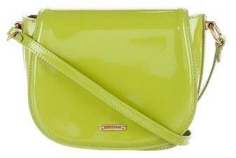 Burberry Burberry Prorsum Patent Leather Crossbody Bag