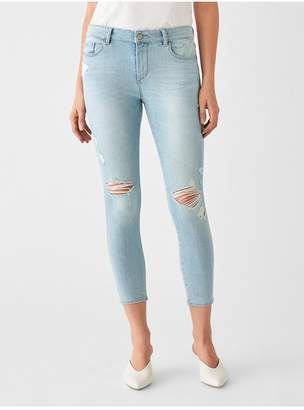 DL1961 Florence Crop Mid Rise Skinny | Fairfax