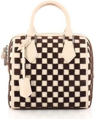 Louis Vuitton Speedy Cube Damier Cubic PM Off White/Brown