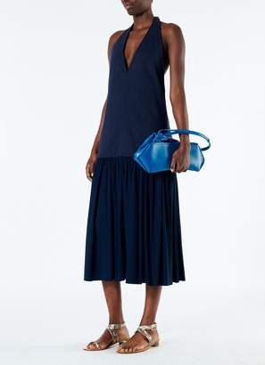 Tibi Punto Milano Veck Halter Dress