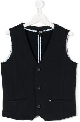 Emporio Armani Kids TEEN formal waistcoat