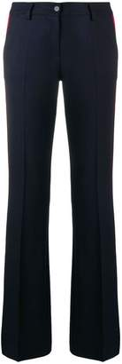 P.A.R.O.S.H. side stripe flared trousers