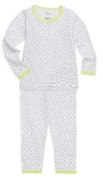 Calvin Klein Little Girl's & Girl's Two-Piece Cotton Pajama Set