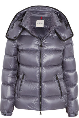 Moncler - Berre Metallic Shell Down Jacket - Navy $1,090 thestylecure.com