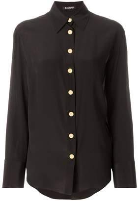 Balmain embellished button shirt
