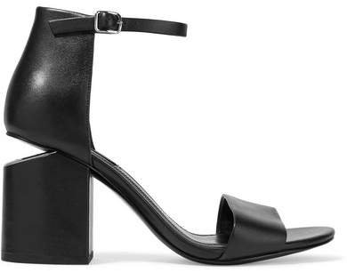 Alexander Wang - Abby Leather Sandals - Black