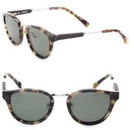 Shwood 29MM Ainsworth Vintage Tortoise Polarized Sunglasses