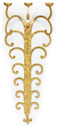 Chelsea House Wrought 3-Candle Sconce - Golden Bronze