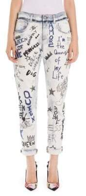 Dolce & Gabbana Graffiti Denim