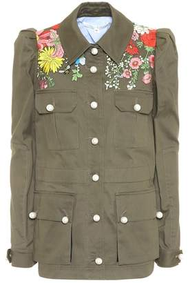 Veronica Beard Huxley embroidered jacket