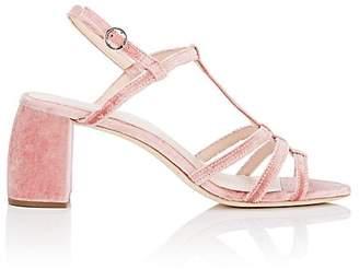 Loeffler Randall Women's Elena Velvet Sandals