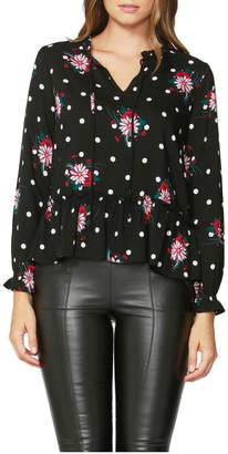 Sass Spot On Floral Blouse