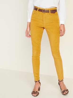Old Navy High-Waisted Rockstar Super Skinny Cords For Women