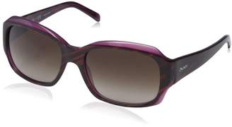 DKNY Women's Plastic Woman Sunglass Rectangular