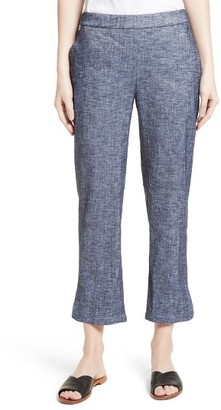 Women's Theory Thorina Tierra Wash Crop Flare Pants $285 thestylecure.com