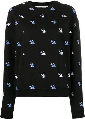 McQ bird detail pullover