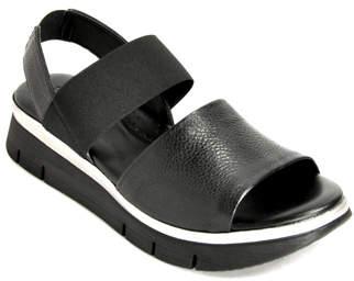 The Flexx Cushy - Leather Flat Rubber Sandal