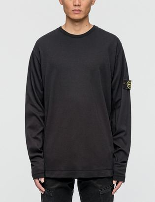 Stone Island Longsleeve T-shirt $178 thestylecure.com
