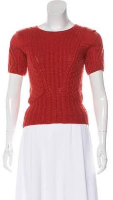 Oscar de la Renta Knit Cashmere Sweater