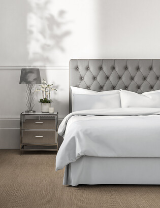 Marks and Spencer Pure Egyptian Cotton 230 Thread Count Valance Sheet with StayNEW