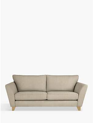 John Lewis & Partners Oslo Large 3 Seater Sofa, Light Leg