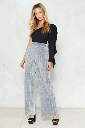 Nasty Gal I'm in the Mood for Dancing Glitter Pants