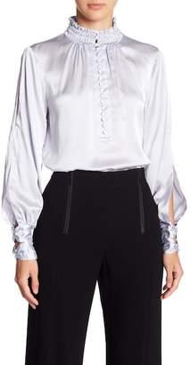 Nanette Lepore Eternal Beauty Silk Blouse