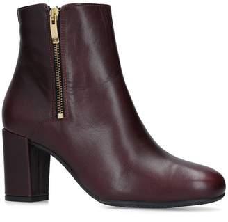 Carvela Leather Rail Ankle Boots 75
