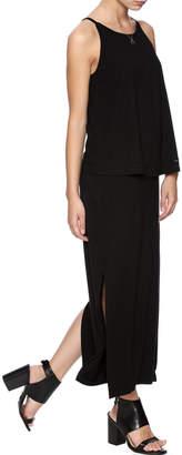 Lilla P Black Maxi Dress