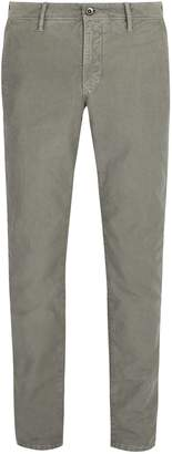 Incotex Slim-fit cotton-twill chino trousers
