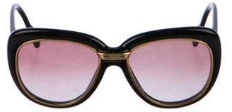 Cartier Vintage Conquete Gold-Plated Sunglasses
